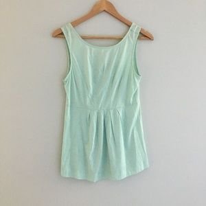 NWT Theory Tank Top in Mint Green